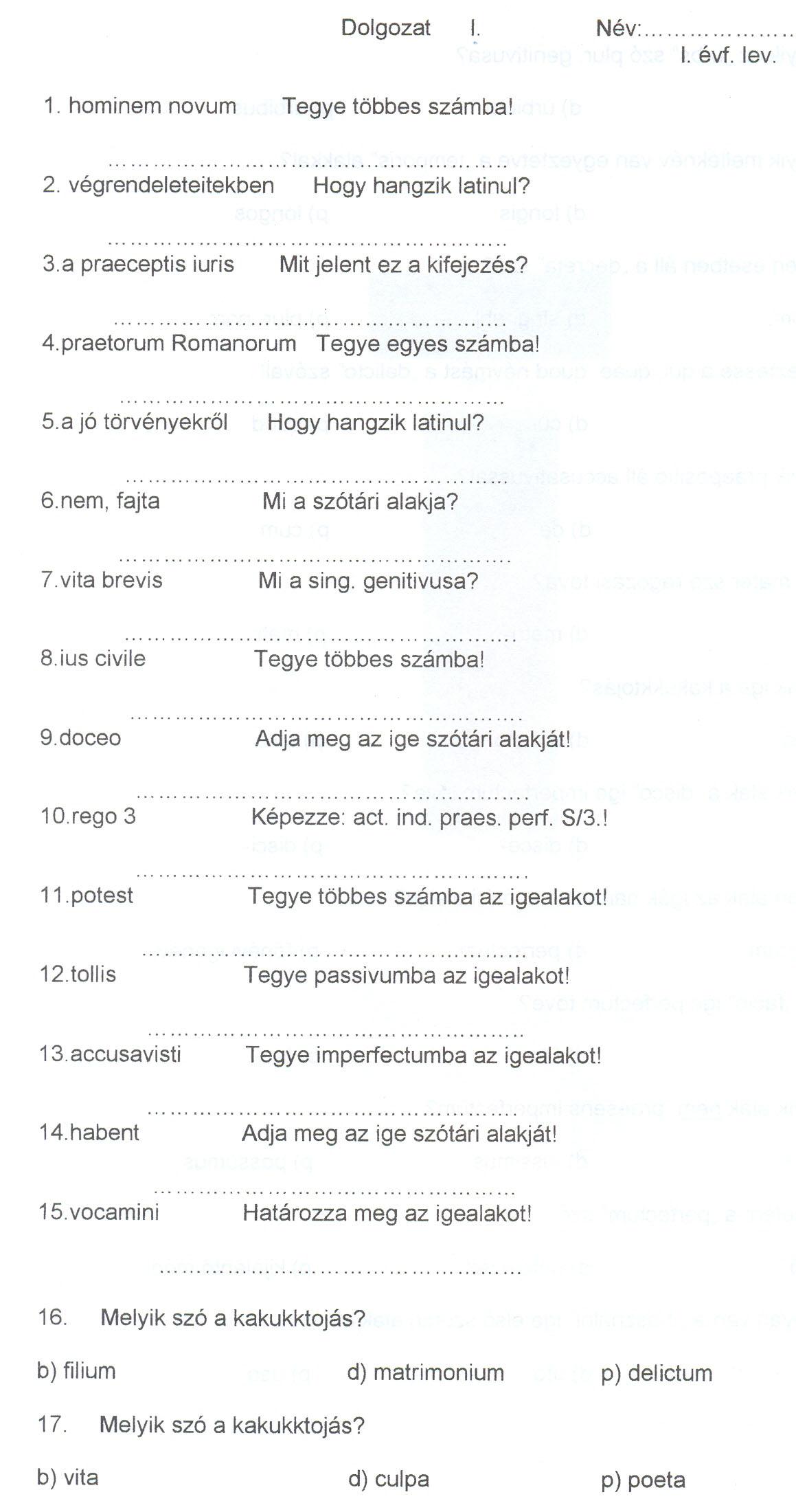 idézetek latinul magyar fordítással JogÁsz jegyzetek – magicafe